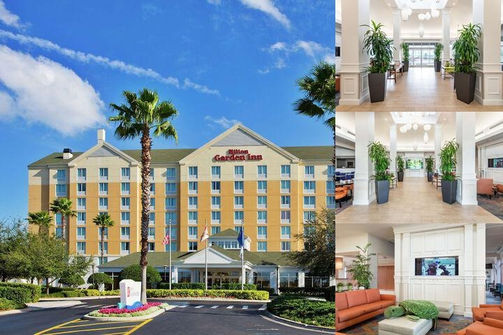 Hilton Garden Inn Orlando at Seaworld photo collage