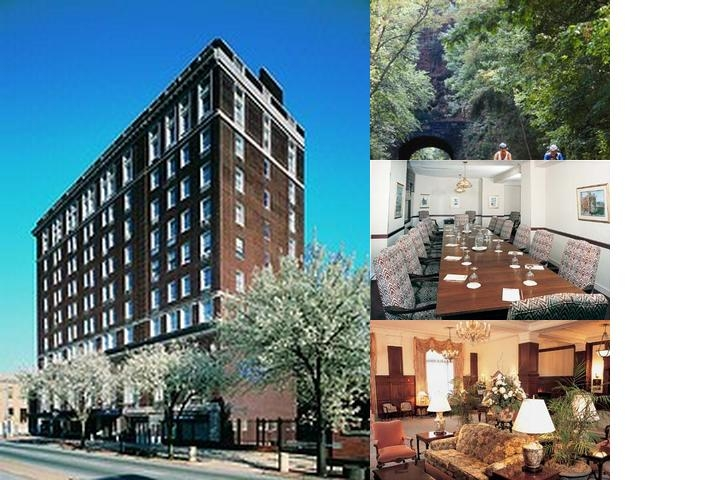 The Yorktowne Hotel photo collage