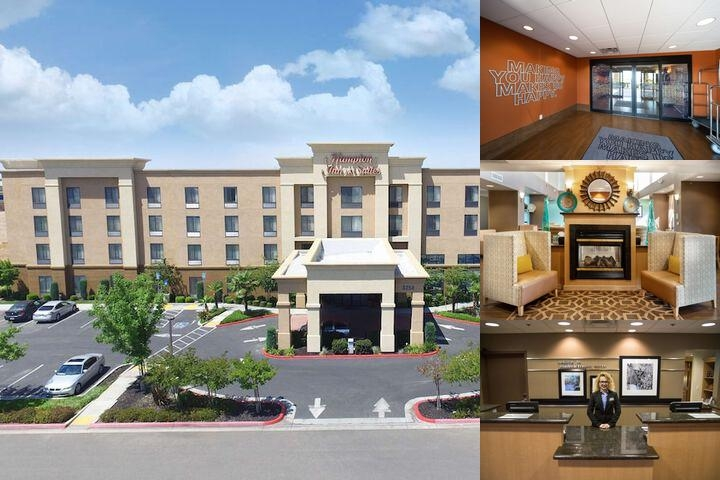 Hampton Inn & Suites Madera photo collage