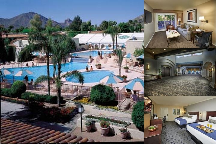 The Scottsdale Plaza Resort photo collage