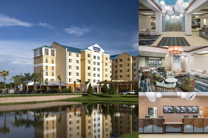 Fairfield Inn & Suites Orlando at Seaworld photo collage