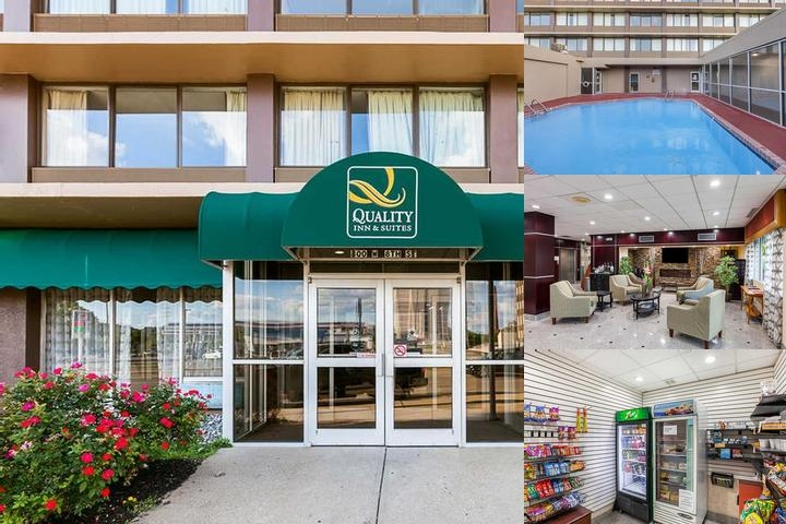Quality Inn & Suites Cincinnati Downtown photo collage