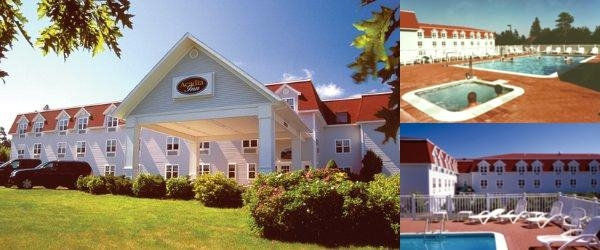 Acadia Inn photo collage