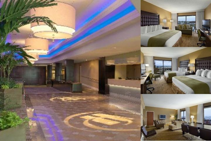 Hilton St. Louis Airport photo collage