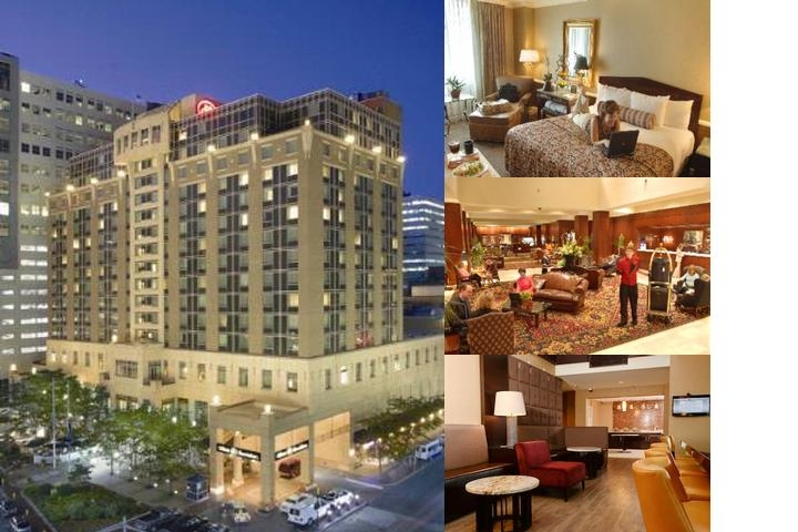 Hilton Harrisburg photo collage
