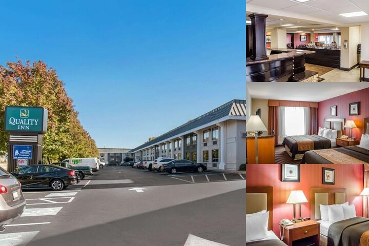 Quality Inn Riverfront photo collage