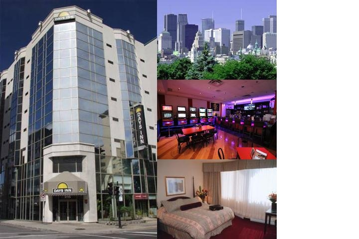 Days Inn Montreal Downtown photo collage