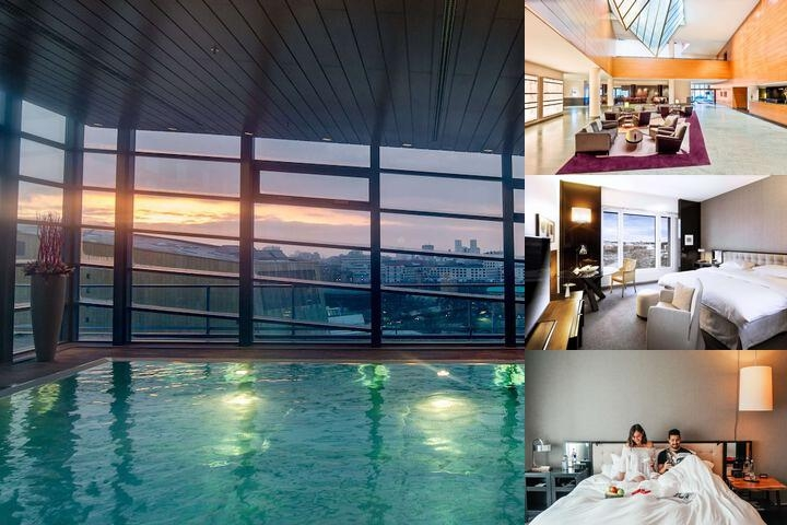 Grand Hyatt Berlin photo collage