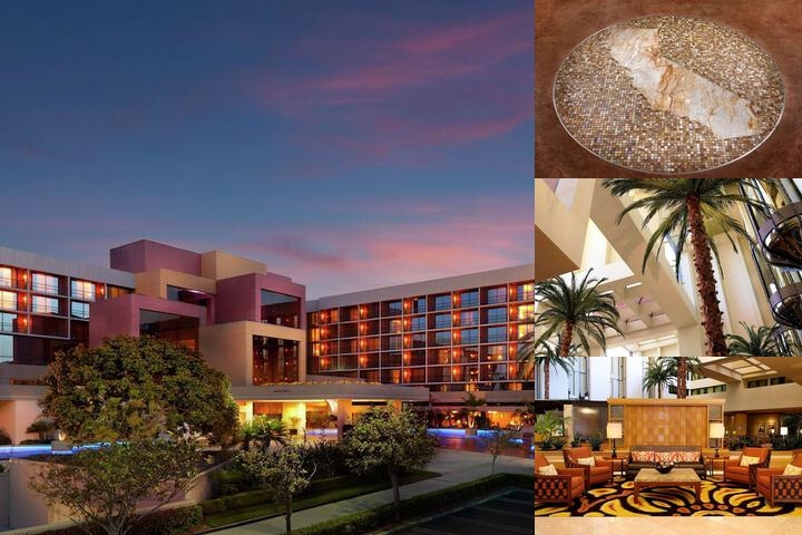 Hilton Costa Mesa photo collage
