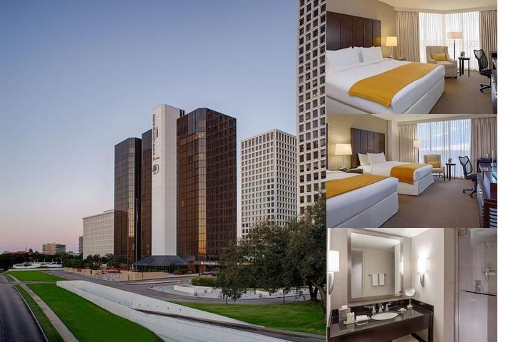 Renaissance Houston Hotel photo collage