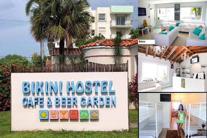 Bikini Hostel Cafe Beer Garden 1255 West Ave Miami Beach Fl 33139
