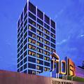 Exterior of Aloft Hotel Downtown Tulsa