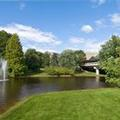 Exterior of Crowne Plaza Princeton Conference Center