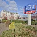 Exterior of Fairfield Inn Annd Suites