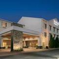 Exterior of Fairfield Inn Manhattan Kansas