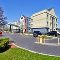 Exterior of Fairfield Inn Marriott Rochester Airport