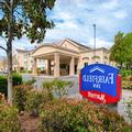 Exterior of Fairfield Inn Sacramento Cal Expo