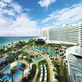 Exterior of Fontainebleau Miami Beach