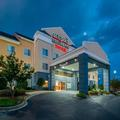 Exterior of Greenwood Fairfield Inn & Suites