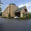 Exterior of Hampton Inn