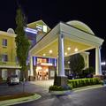 Exterior of Holiday Inn Express
