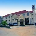 Exterior of Holiday Inn Express Champions