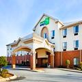 Exterior of Holiday Inn Express Forest City