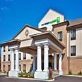Exterior of Holiday Inn Express Hotel & Suites Crawfordsville