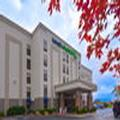 Exterior of Holiday Inn Express University of Arkansas Area