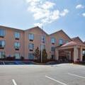 Exterior of Homewood Suites