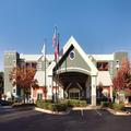 Exterior of Homewood Suites Alpharetta