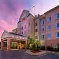 Exterior of Marriott Fairfield Inn & Suites