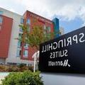 Exterior of Springhill Suites Nasa / Webster