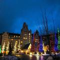 Exterior of The Fairmont Chateau Whistler