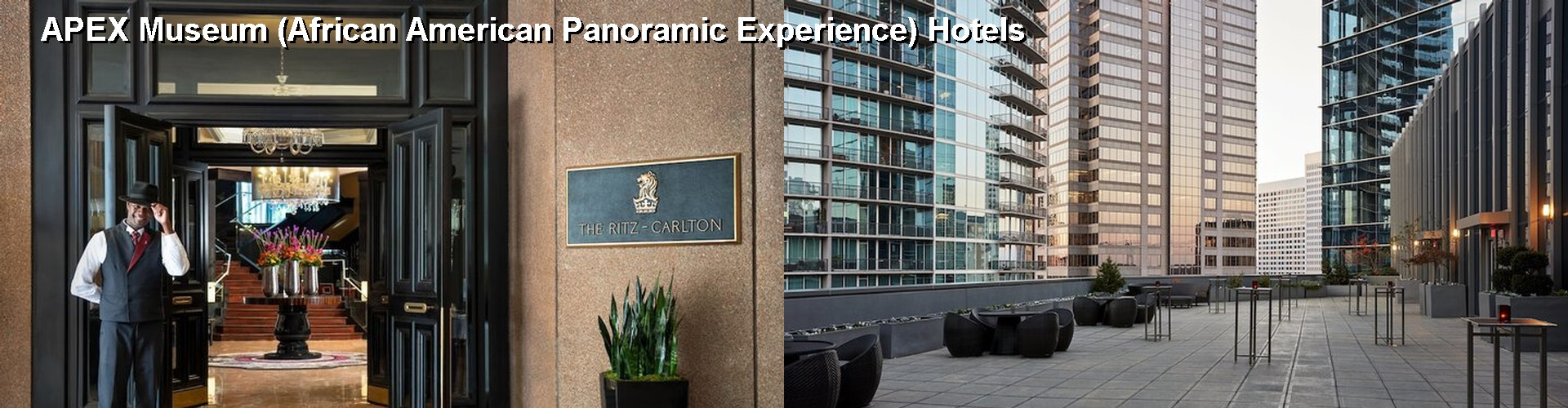 5 Best Hotels near APEX Museum (African American Panoramic Experience)