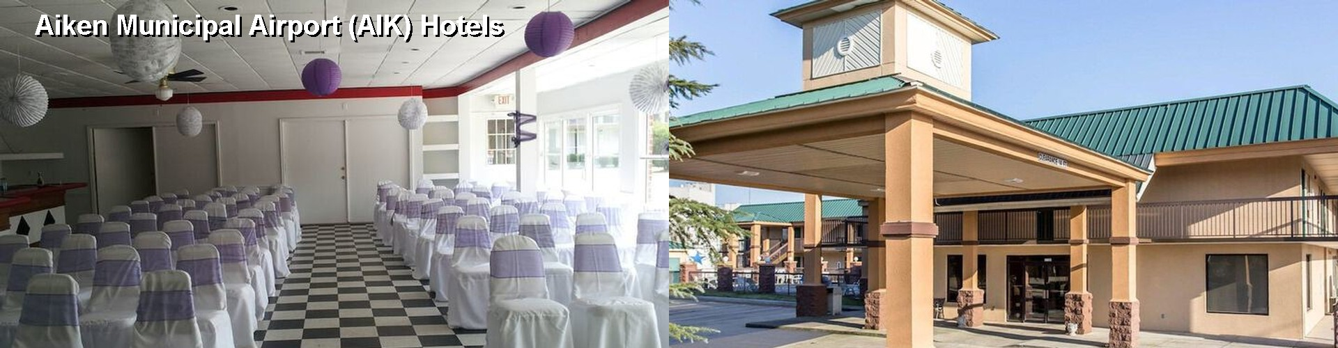 3 Best Hotels near Aiken Municipal Airport (AIK)