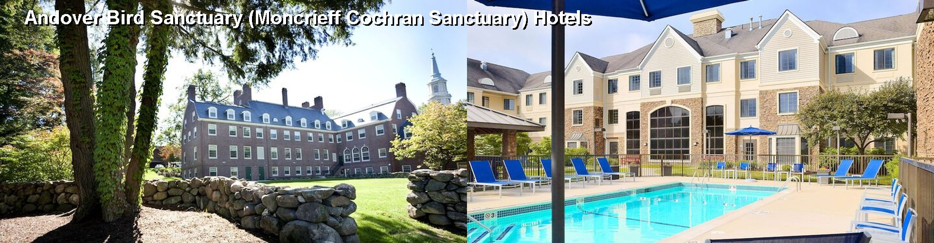 5 Best Hotels near Andover Bird Sanctuary (Moncrieff Cochran Sanctuary)