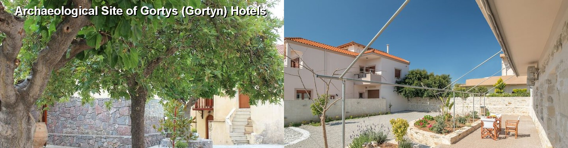 5 Best Hotels near Archaeological Site of Gortys (Gortyn)