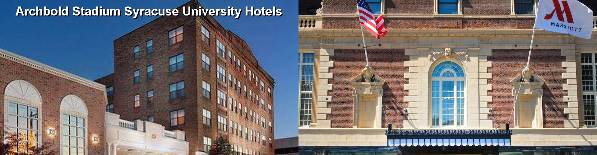 5 Best Hotels Near Archbold Stadium Syracuse University