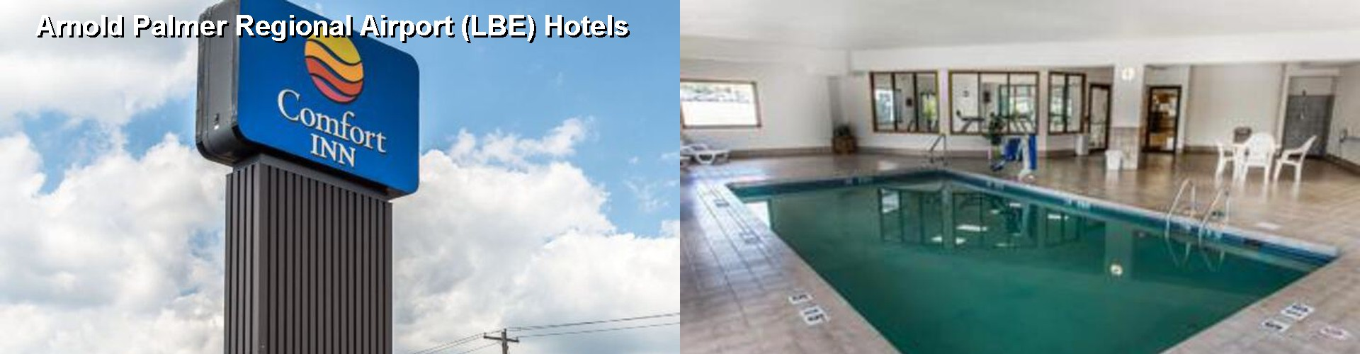 $40+ hotels near arnold palmer regional airport (lbe) in latrobe (pa) ✈