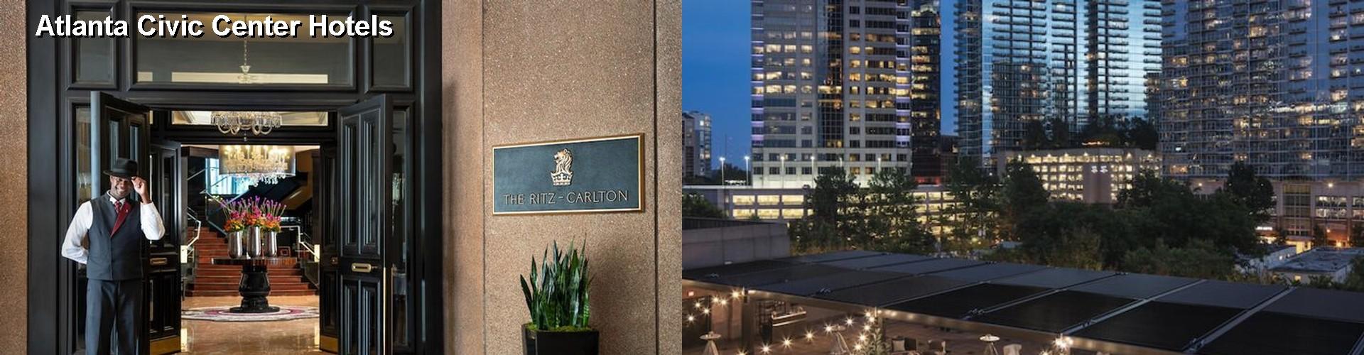 5 Best Hotels Near Atlanta Civic Center