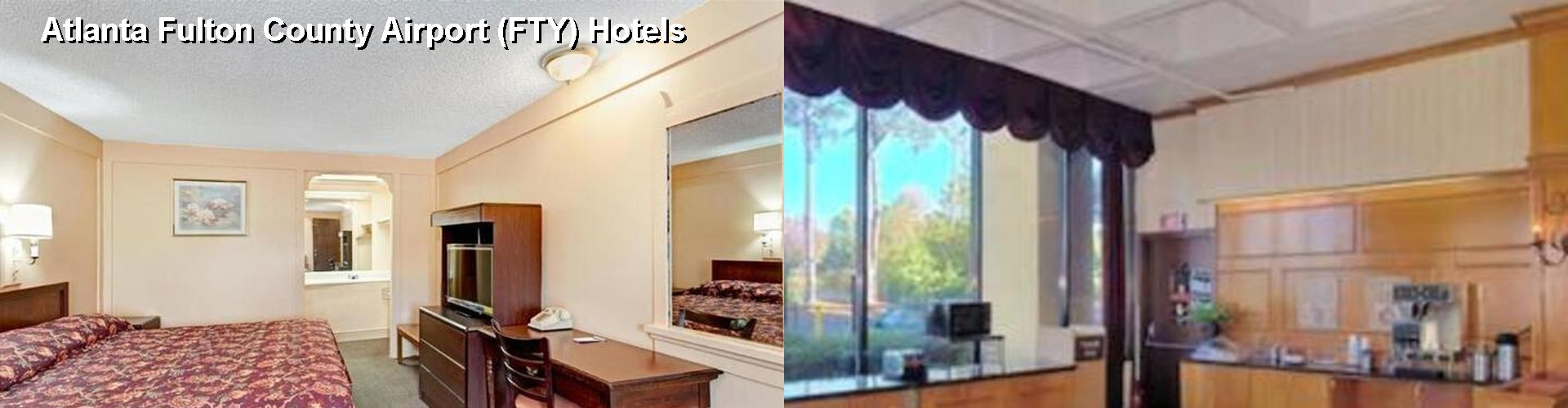 4 Best Hotels near Atlanta Fulton County Airport (FTY)