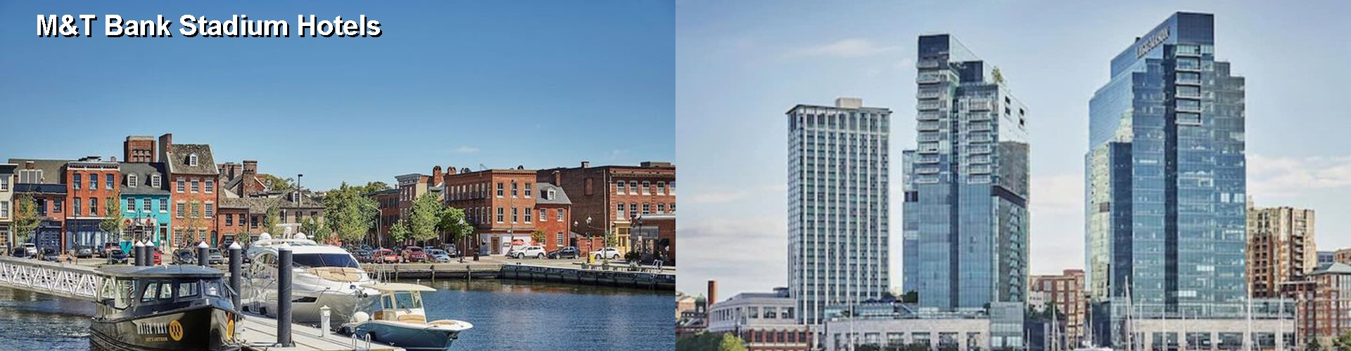 5 Best Hotels near Baltimore Ravens M and T Bank Stadium