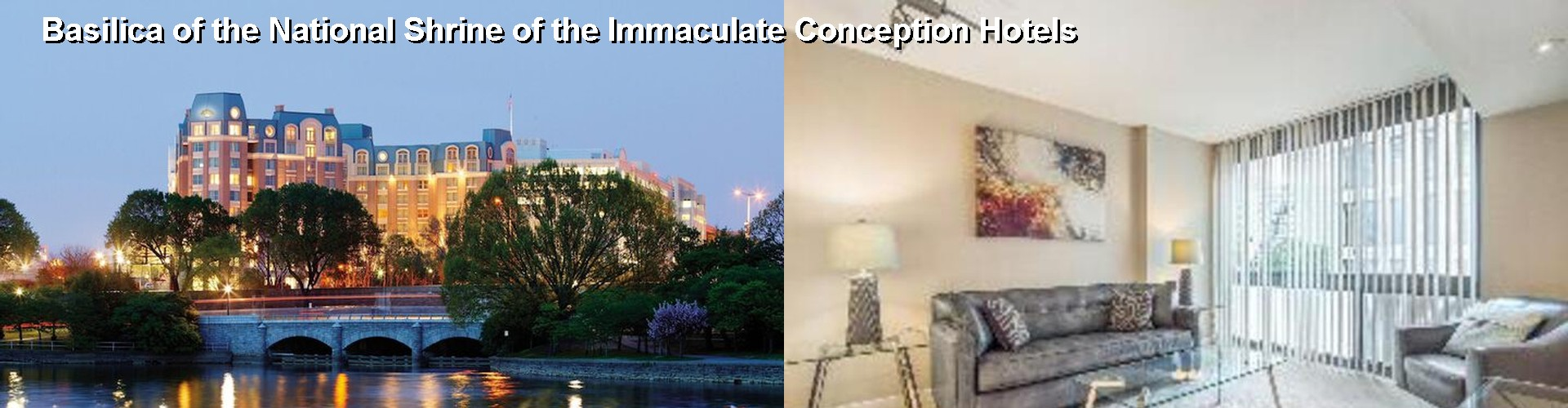5 Best Hotels near Basilica of the National Shrine of the Immaculate Conception