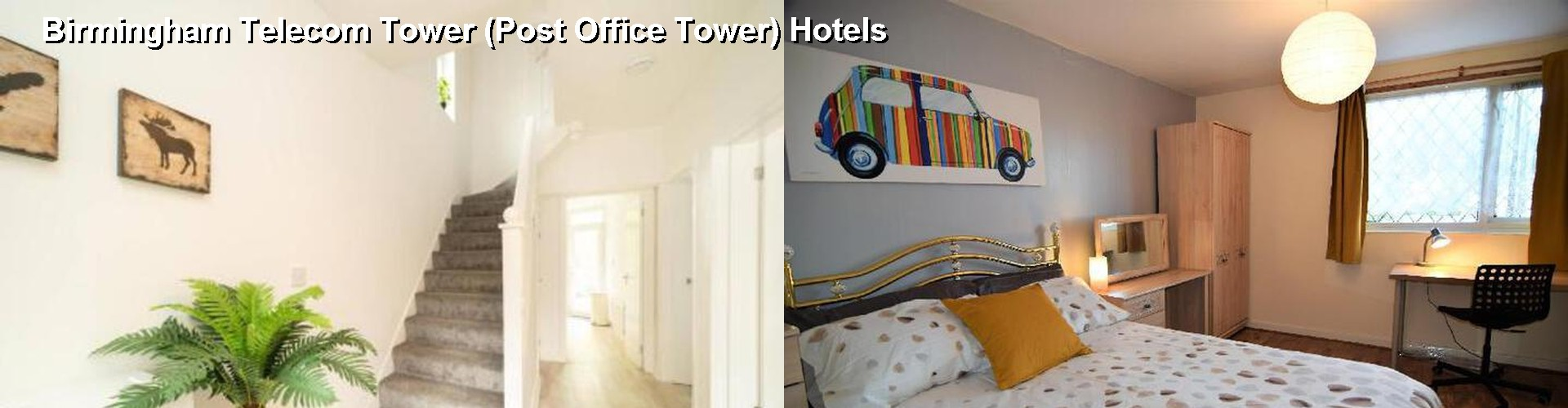 5 Best Hotels near Birmingham Telecom Tower (Post Office Tower)