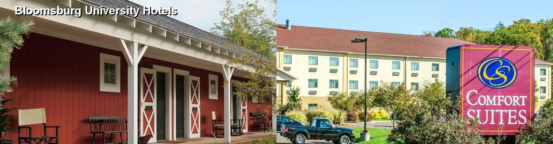 5 Best Hotels Near Bloomsburg University
