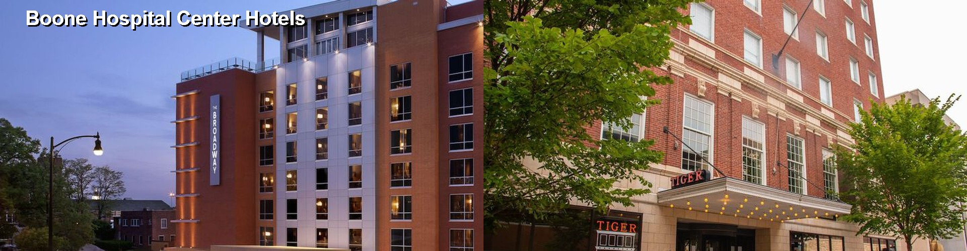 5 Best Hotels near Boone Hospital Center