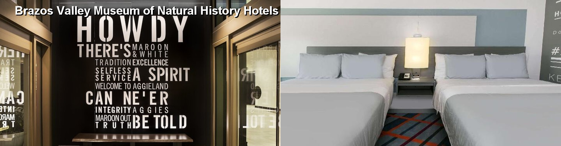 5 Best Hotels near Brazos Valley Museum of Natural History
