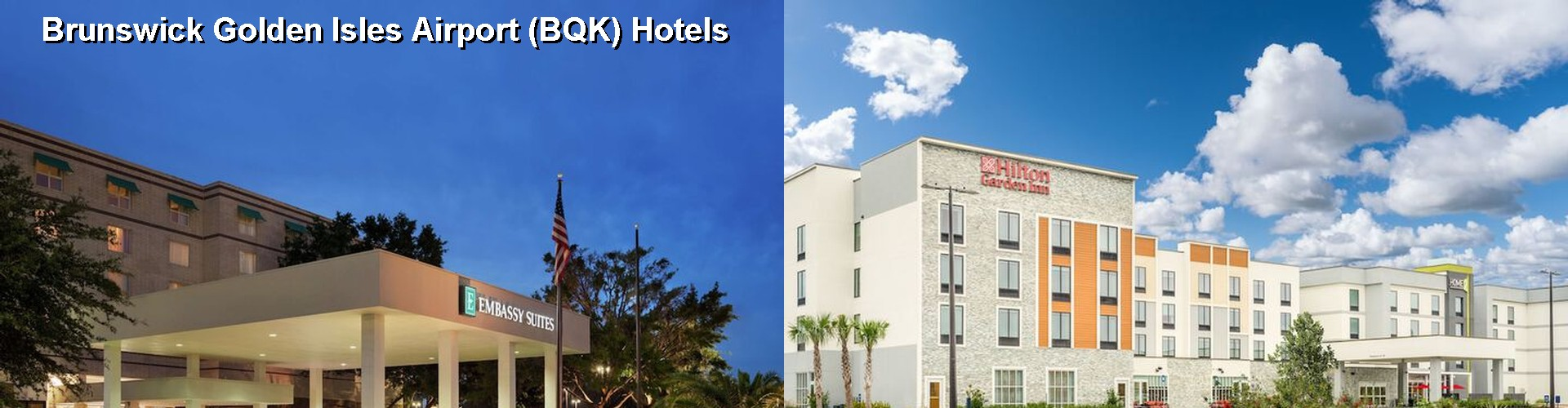 5 Best Hotels near Brunswick Golden Isles Airport (BQK)