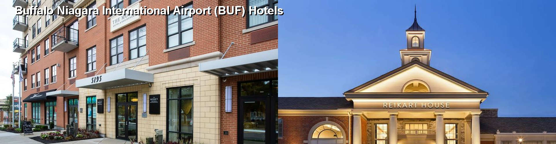5 Best Hotels Near Buffalo Niagara International Airport Buf